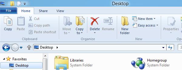 Interface ruban Explorateur Windows 8 Softonic