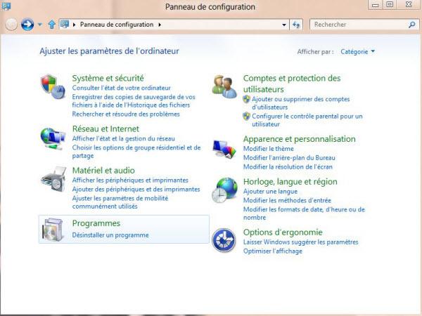 Guide de Windows 8 #4 Désintaller un logiciel