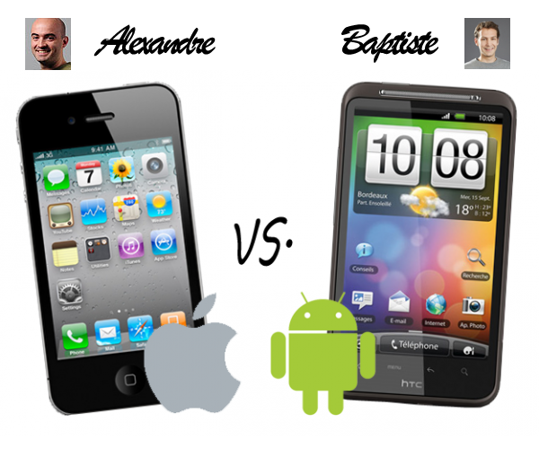 iPhone vs Android : le duel Softonic