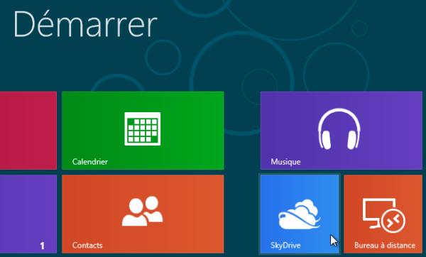 Guide d'installation de Windows 8
