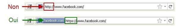 HTTP ou HTTP, contrôlez le protocle