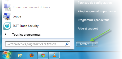 Guide de l informatique pisode 1 allumer et teindre le pc for Windows 7 bureau