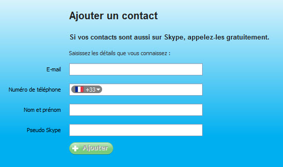 Ajouter un contact Skype Softonic