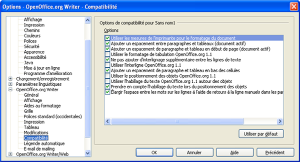Writer compatible avec word c est possible - Open office writer telecharger gratuit ...
