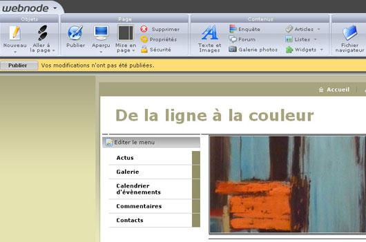 Quel logiciel pour d buter en cr ation de site web for Site web gratuit
