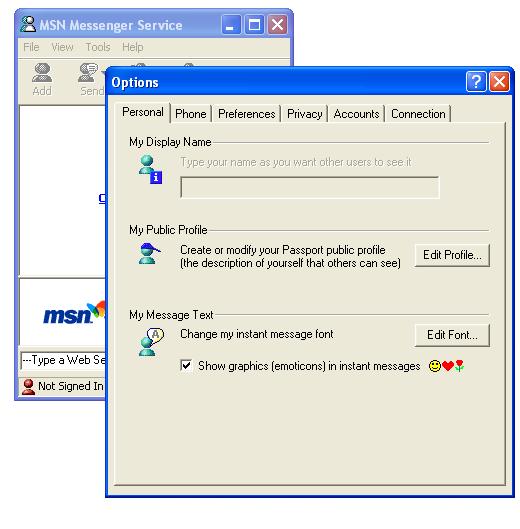 msn_messenger3.0_options