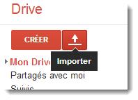 Importer un document Word dans Google Drive