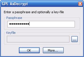 Cryptage - exe decrypt