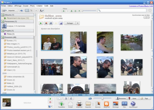 picasa photo viewer gratuit