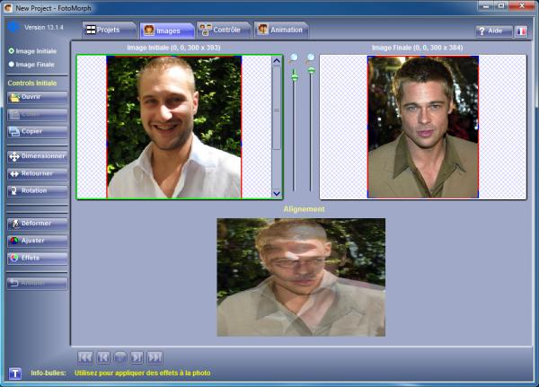 logiciel de morphing photo gratuit
