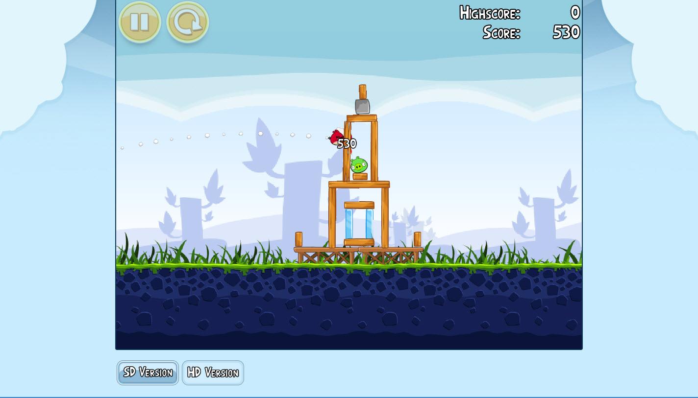 Angry birds gratuit dans votre navigateur - Telecharger angry bird gratuit ...