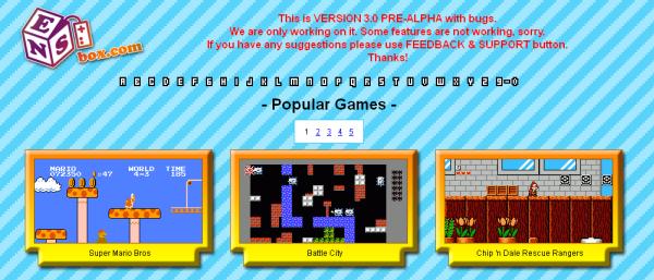 L'appli web de la semaine NESBox