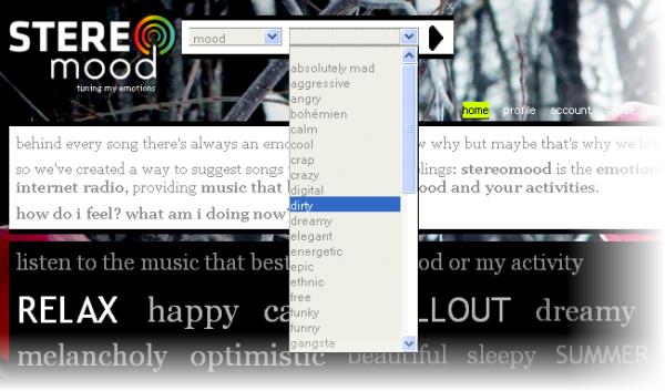 L'appli web de la semaine: stereomood