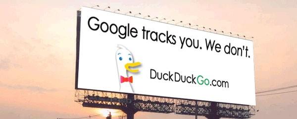 DuckDuckGo no tracking