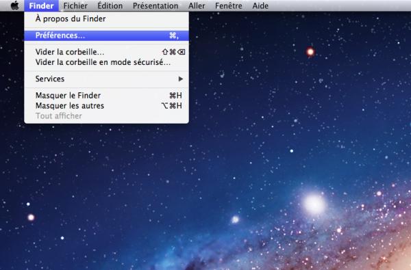 Mac : Comment afficher l'icône du disque dur sur son bureau?
