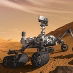robot Curiosity  - exploration de Mars