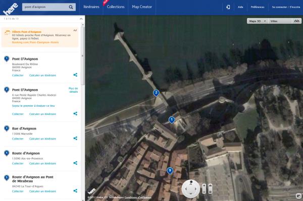 Nokia Here contre Google Maps: un comparatif à chaud
