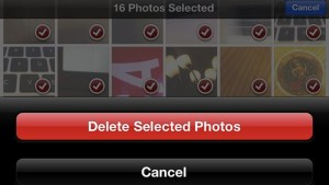 Comment supprimer les photos de son iPhone ou iPad?