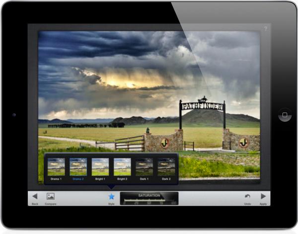 Snapseed pour iPad Mini, bien mieux qu'Instagram