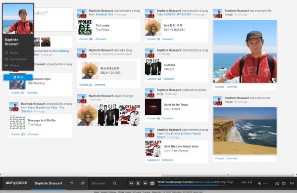 Le retour du Nouveau MySpace. Il est déjà trop tard ?