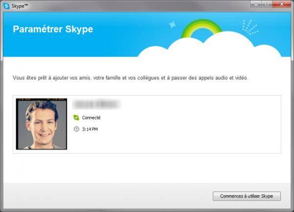 Commencez à utiliser Skype