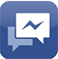 Logo de Facebook Messenger
