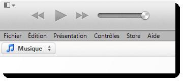 réinstaller la bibliothèque iTunes à partir des fenêtres du disque dur externe
