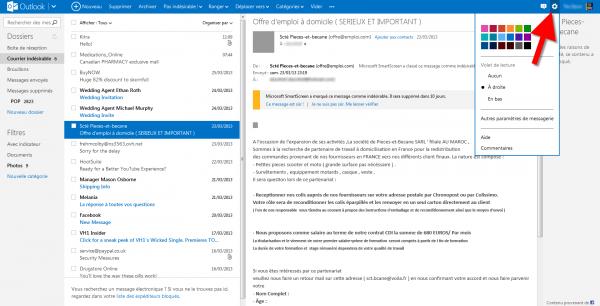 Configurer Outlook Hotmail