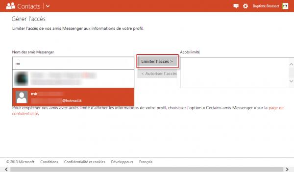 Bloquer des contacts MSN dans Skype