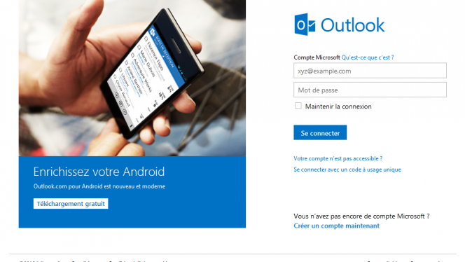 Guide outlook