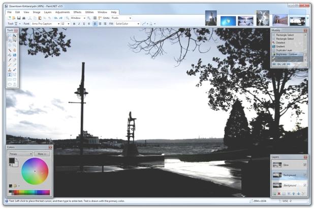 Paint.NET - Convivial et facile à utiliser