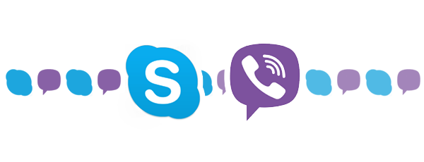 Viber et Skype ex-æquo