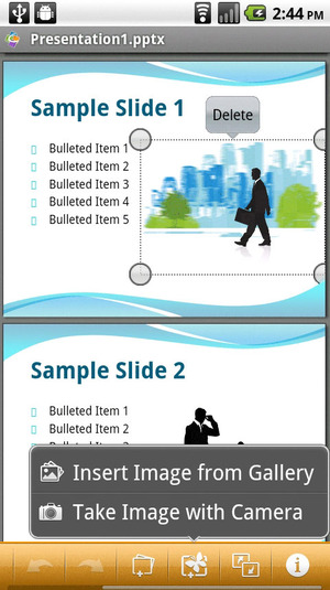 Quick Office Pro pour Android