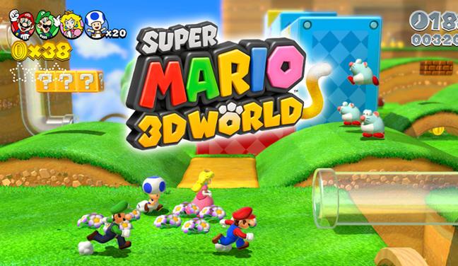 L'avant-première de Super Mario 3D World à l'E3
