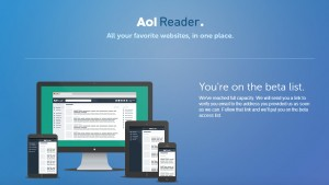 AOL entre dans la danse et annonce son alternative au Google Reader