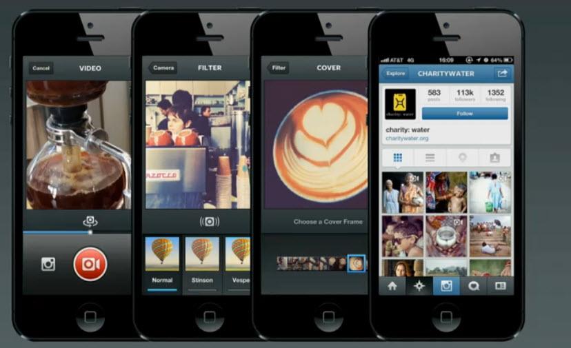 Instagram se met à la vidéo pour concurrencer Vine de Twitter