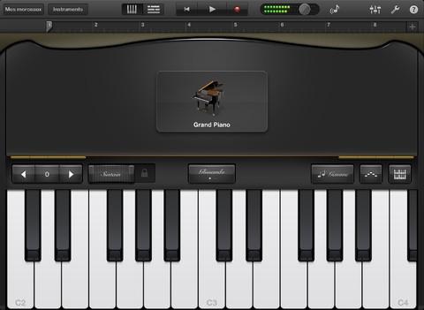 GarageBand pour iPad