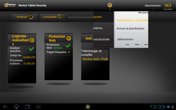 norton mobile security tablette android antivirus