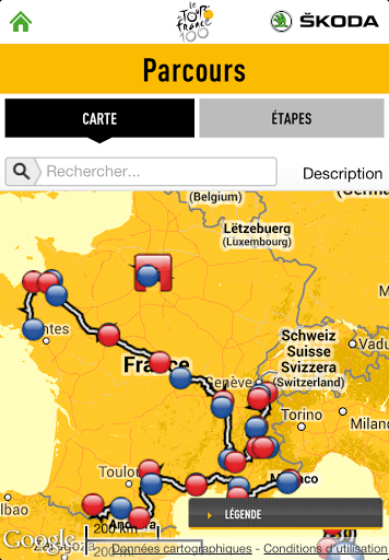 Tour de France 2013 application officielle