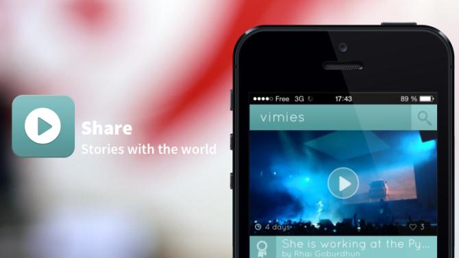 Vimies, l'appli française qui entend concurrencer Vine et Instagram