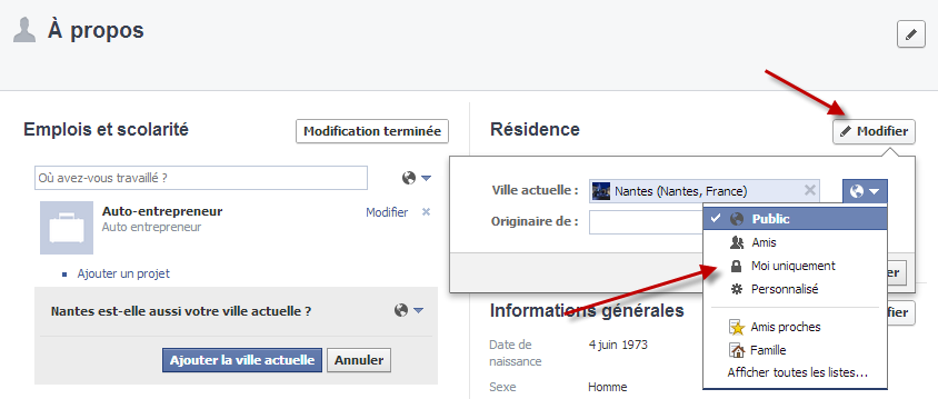 Facebook Graph Search A propos