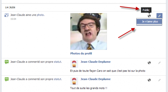 Je n'aime plus Facebook Graph Search