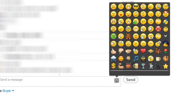 Skype liste des émoticônes