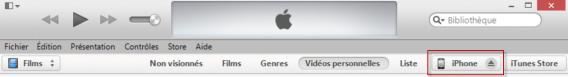 Icône iPhone iTunes