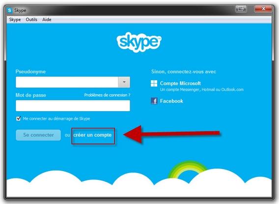 guide skype tape 1 comment cr er un compte partir d un pc ou d un smartphone. Black Bedroom Furniture Sets. Home Design Ideas