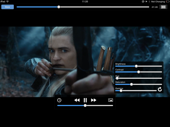 VLC iOS settings