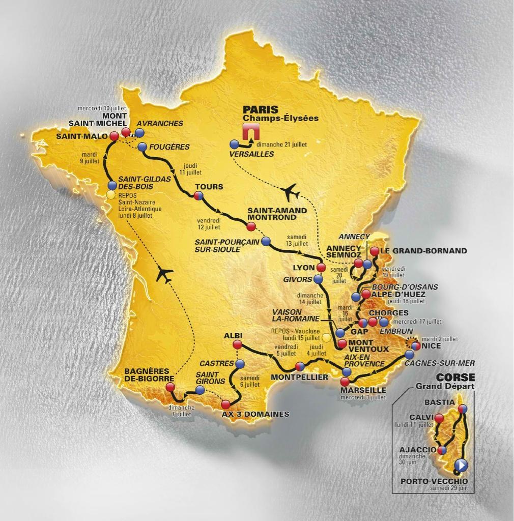 Tour de France: Google lance un site interactif pour vivre les étapes
