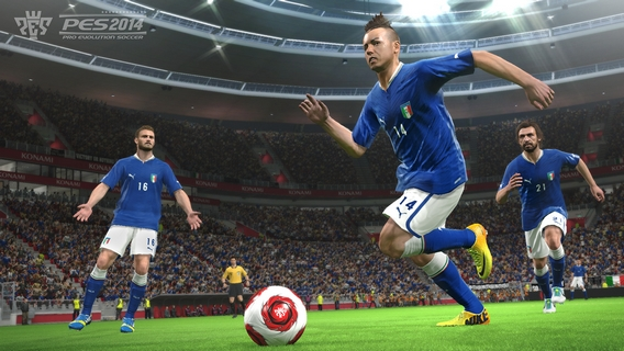 PES 2014 - Animations