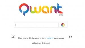 Lancement officiel de Qwant: un moteur de recherche français de nouvelle génération