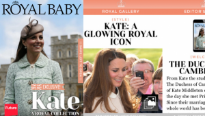 Kate et William: une appli iPhone pour voir le Royal Baby